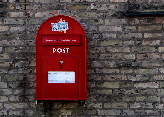 Photo:Danish Post Box By:Debarshi Ray