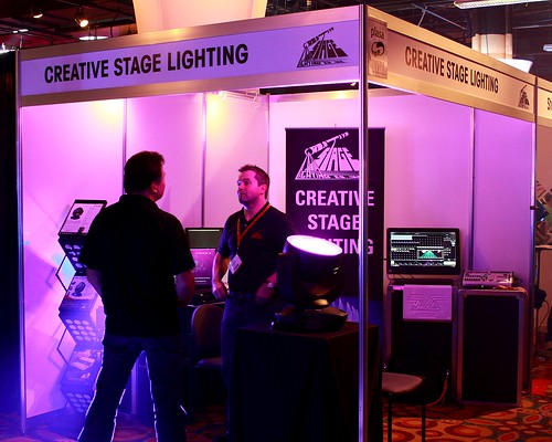 Creative Stage Lighting at PLASA Focus Austin 2012