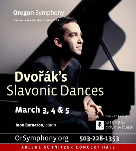 Dvorak Slavonic Dances @ Oregon Symphony