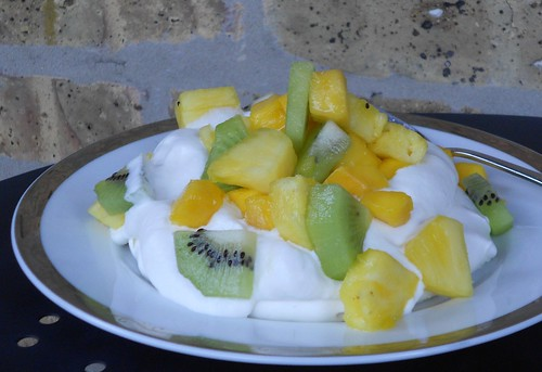 Tropical Fruit Pavlova