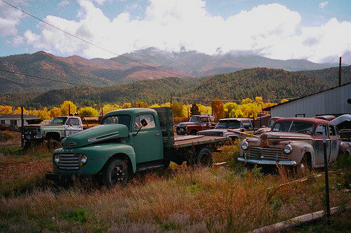 Old Cars Near Questa