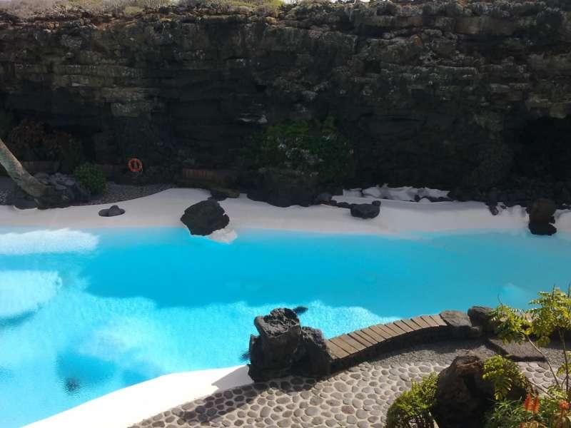 Piscina Jardines Jameos del Agua en Lanzarote 13