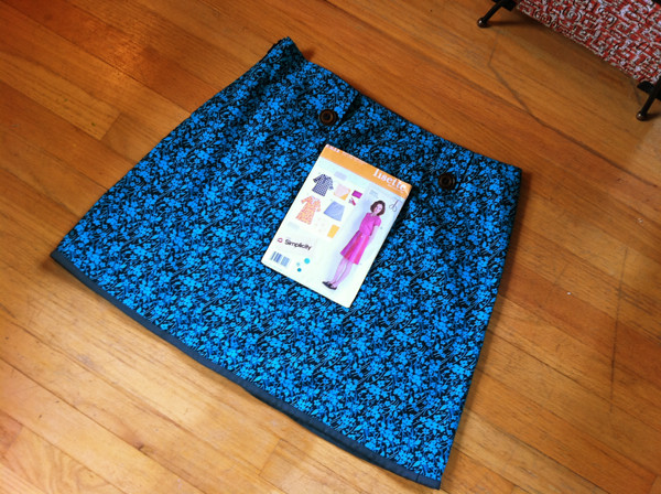 my lisette market skirt