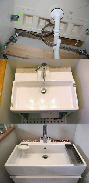 Sink progress