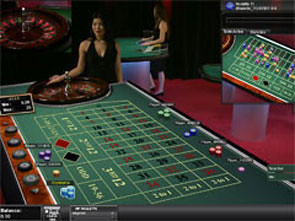 Live Roulette 3D View