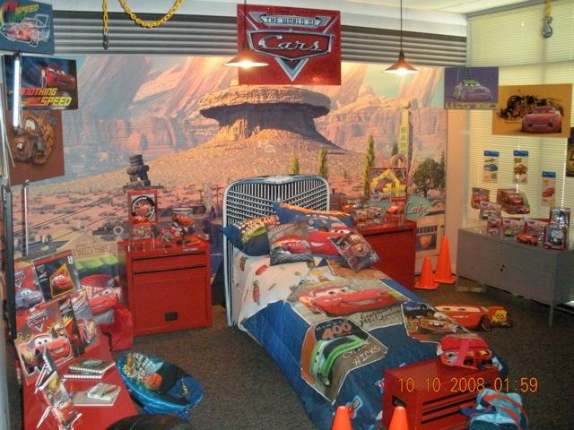 Disney pixar cars 2 special room flickr photo sharing for Disney pixar cars bedroom ideas