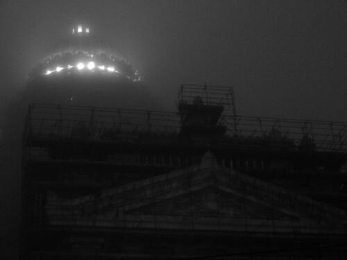 'Foggy Brussels 4' - Brussels, Belgium 2012