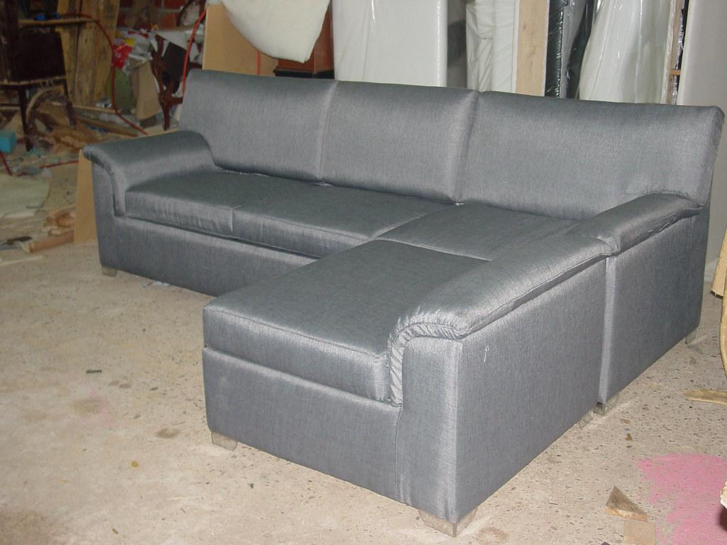 Sofa camas con chaise longue y baul mueblesdeksa - Cama tipo divan ...