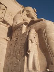 Exterior Details at Abu Simbel (VIII)