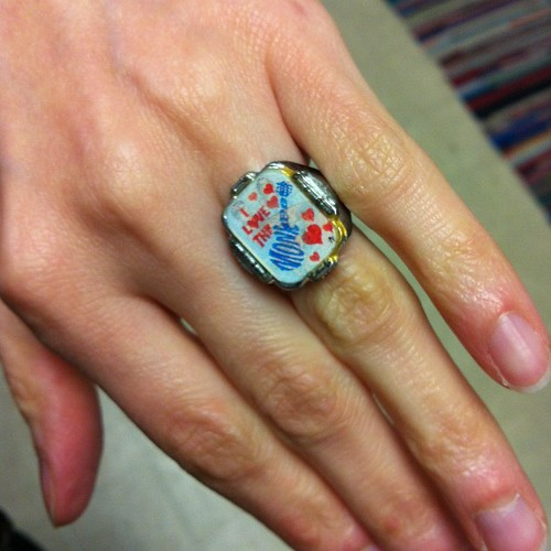 My Monkees flash ring.