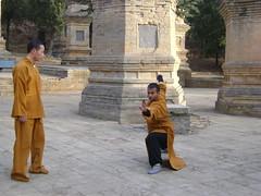 Tue, 15/03/2011 - 05:19 - SHIFU KANISHKA TRAINING IN SHAOLIN PAGODAS Shaolin Kung Fu India