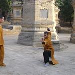 SHIFU KANISHKA TRAINING IN SHAOLIN PAGODAS Shaolin Kung Fu India