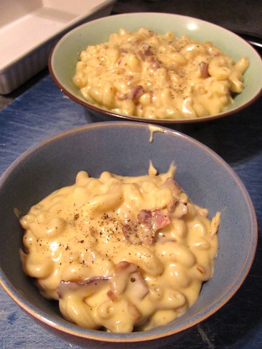 Macaroni Cheese With Bacon Recipe Dishmaps