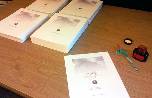 Signature Sheets!