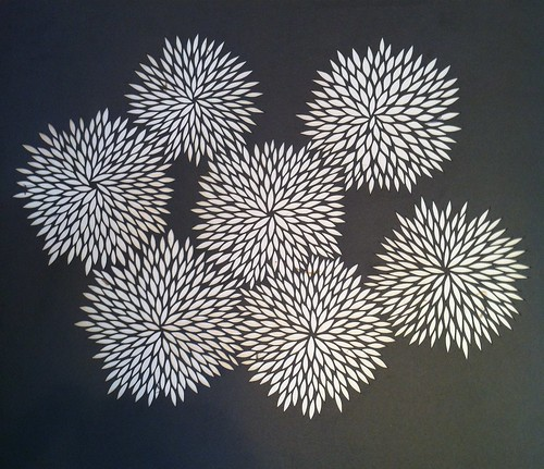 Finished paper cut design