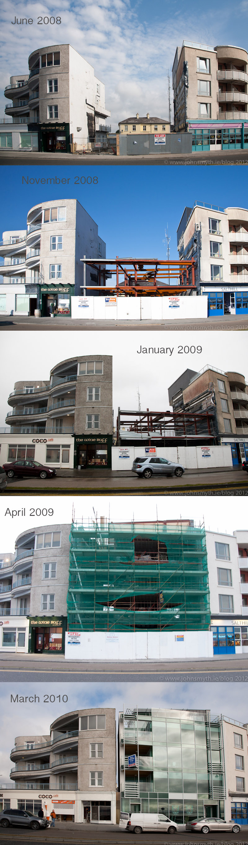 Galway construction : Salthill Apartments