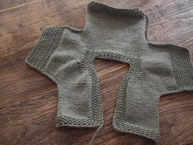 Free Knitting Patterns For Baby Sweaters Beginners : easy baby cardigan Flickr - Photo Sharing!