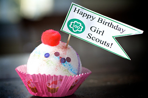 Happy 100th Birthday Girl Scouts!