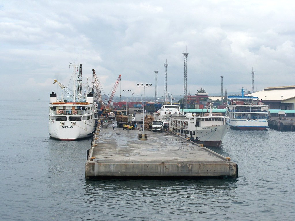 Outer wharf of Zamboanga port