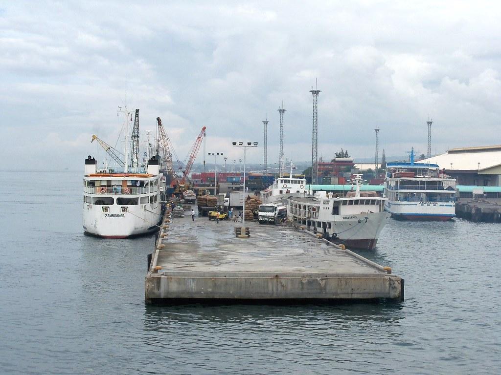 Outer wharf of Zamboanga port