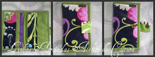 Mosaico da carteira em pvc by ♥Linhas Arrojadas Atelier de costura♥Sonyaxana