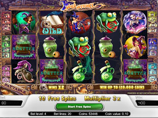 Wild Witches bonus game
