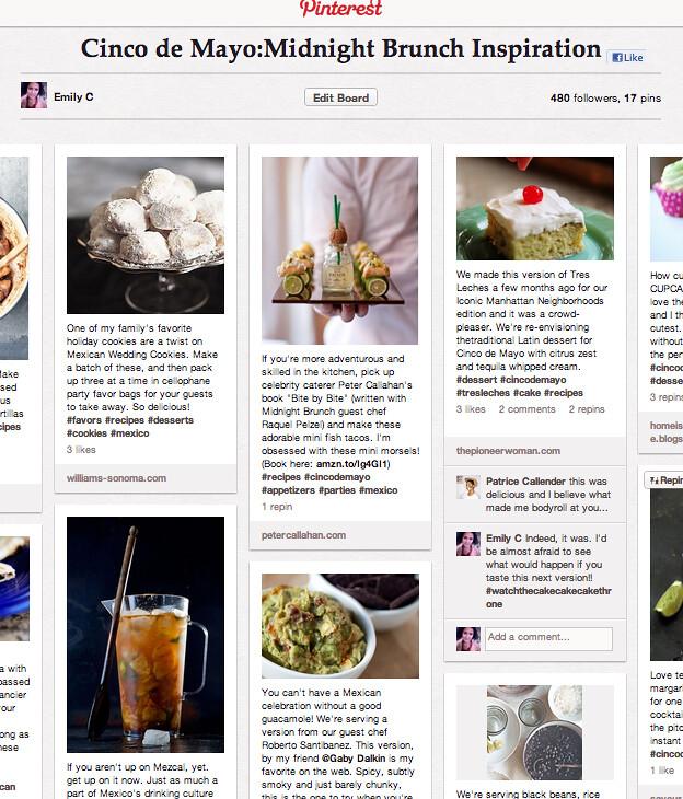 My Pinterest Cinco de Mayo Inspiration Board