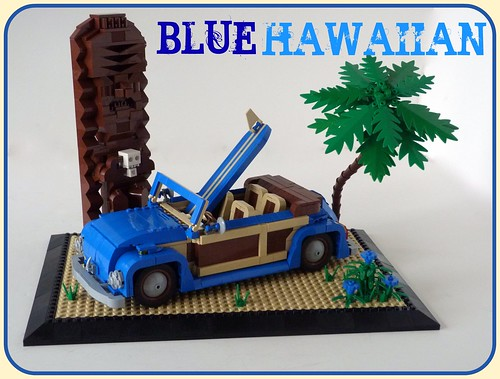 VW Beetle...Blue Hawaiian