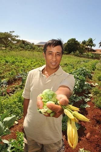 James at Farm
