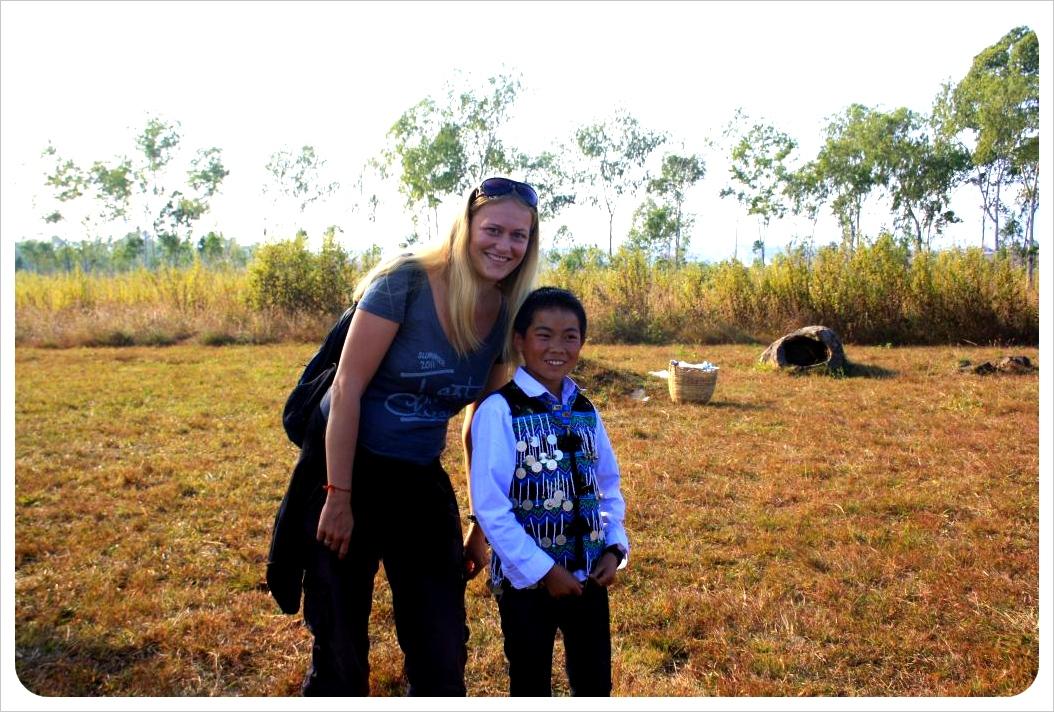 dani & hmong boy