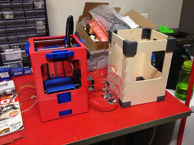 Printed vs CNC milled Tantillus frames