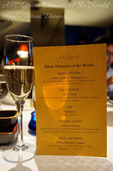 great dinners of the world