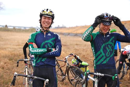 Team riders Occhi & Payashi