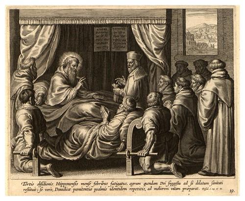 014-Iconographia magni patris Aurelli Augustini…1624-Grabados de Boetius Bolswert- Cortesia de Villanova University