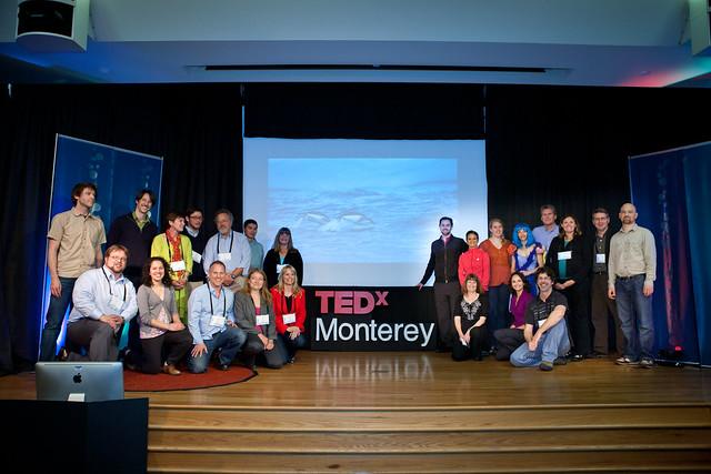 TEDxMonterey - organizers and presenters