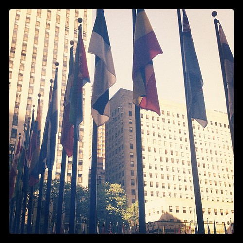 30 Rock - Before it gets crazy with visitors #newyork #midtown #nyc #rockefellercenter