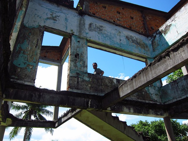 Me in a Crumbling Villa