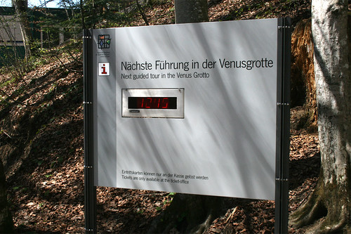 Nächste Führung - Venusgrotte - Schloß Linderhof