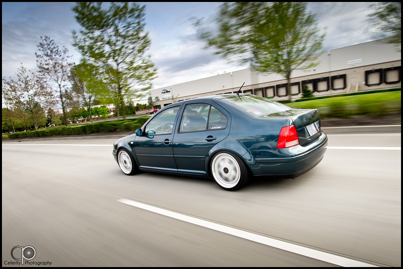 Mindy's Baltic Green Bagged Jetta