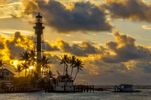 lighthouse sunrise florida hillsboroinlet
