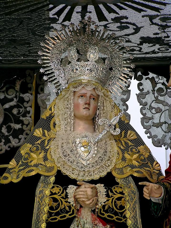 María Santísima de las Angustias, Cádiz