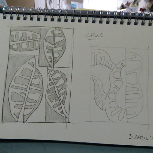 Quilt design sketches