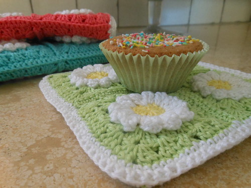 Crochet potholder