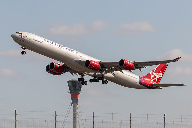 Virgin Atlantic Airways Airbus A340-600 G-VWKD
