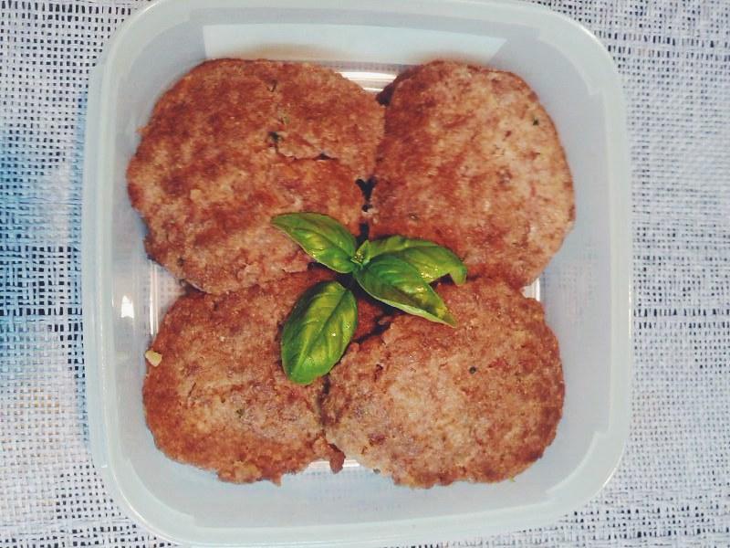Comida para el  viaje - Hamburguesas paleo