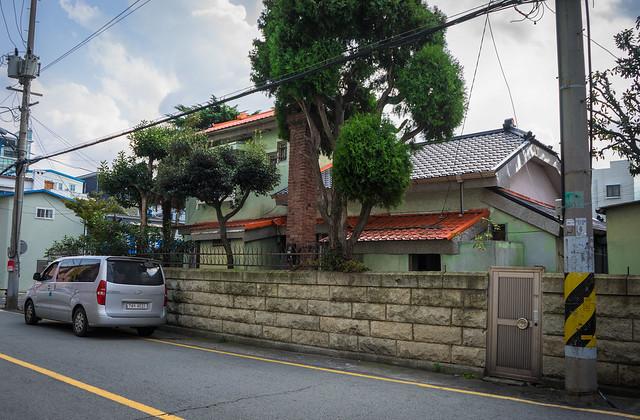 Colonial Japanese-style house, Mokpo, South Korea