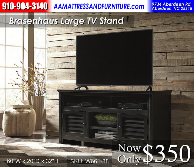 Brasenhaus 60in TV Stand