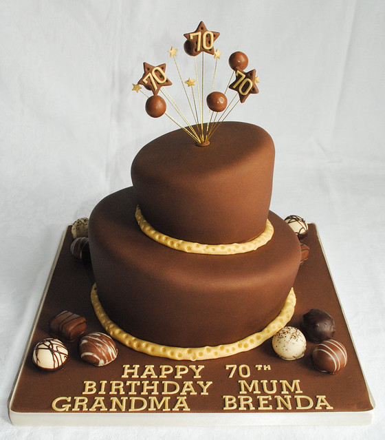 Thorntons Chocolate Birthday Cake