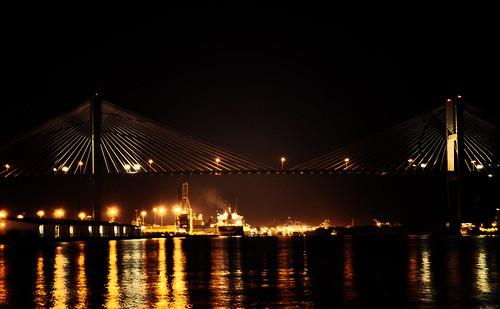 bridge water river georgia lights savannah 2012 week8 week8theme 522012 52weeksthe2012edition weekoffebruary19