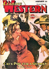 212a Leading Western Nov-1945 Includes Gambler — or Piker by E. Hoffmann Price